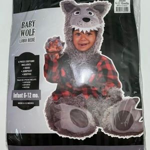 Infant Halloween costume baby wolf 6-12 months